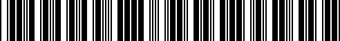 Barcode for 999G3-44104